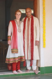 All dressed up in India.