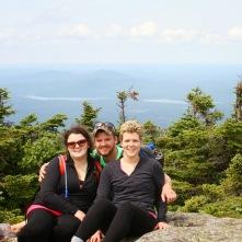 Adirondack 17-mile hike w/family!