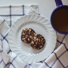 Fruit & nut chocolate.