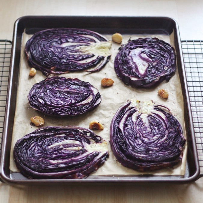 Roasted Cabbage After