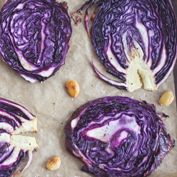 Roasted Cabbage Close-up